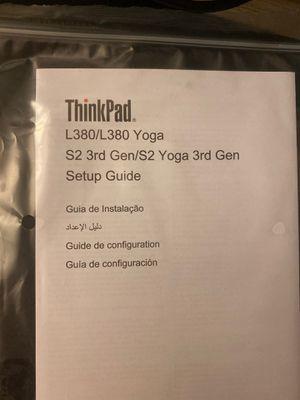 Lenovo Thinkpad Yoga L380 laptop computer for Sale in Vienna, VA