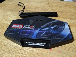Hot Toys figure stand for Captain America Concept Art Version for Sale in Commerce, CA