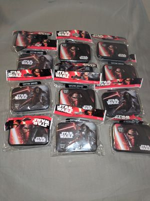 star wars tin full of cotton qtips. each tin has 30 for Sale in Marietta, GA