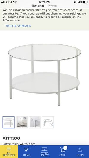 Vittsjo ikea coffee table for Sale in Miami, FL