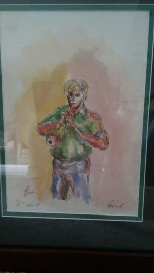 "Art, original, ""G Note"" by George Nock (1NFL) for Sale in Baltimore, MD"