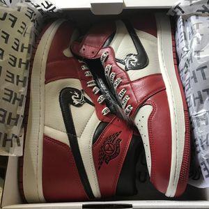 Jordan 1 Chicago Custom ineverheardofyou F*ck off 1 for Sale in Naperville, IL