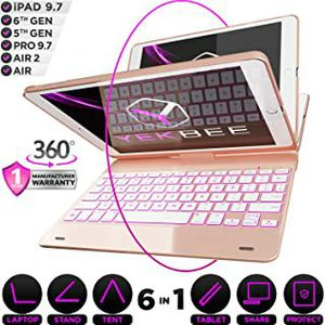Yekbee 360x Keyboard Case for iPad 2018 6th Gen for Sale in Hawthorne, CA