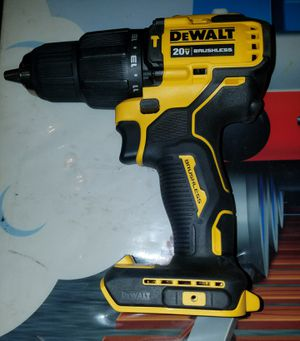 NEW DEWALT 20V MAX BRUSHLESS ATOMIC COMPAC SERIES CORDLESS HAMMER DRILL DRIVER TOOL ONLY. for Sale in Ceres, CA