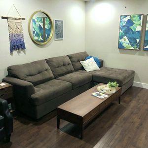 Medium Grey Sectional for Sale in Chandler, AZ