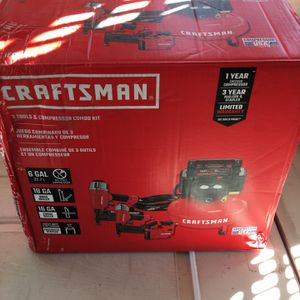 Craftsman 2 Tool And Compressor Combo Kit for Sale in Las Vegas, NV