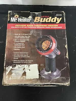 3,800 BTU Little Buddy Radiant Propane Space Heater for Sale in Los Angeles, CA
