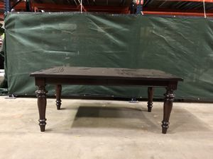 Dark Brown Solid Wood Dining Table for Sale in Fall City, WA