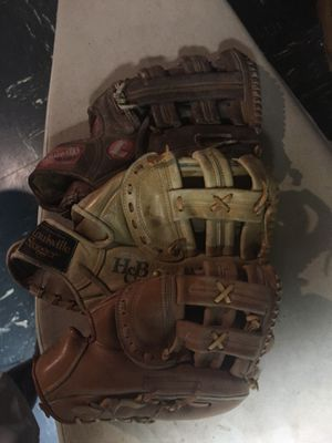 Softball gloves for Sale in Indianapolis, IN