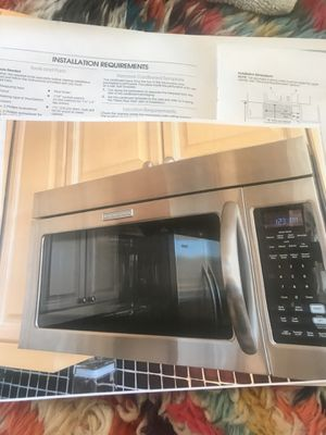Kitchen Aid Microwave Stainless for Sale in Denver, CO