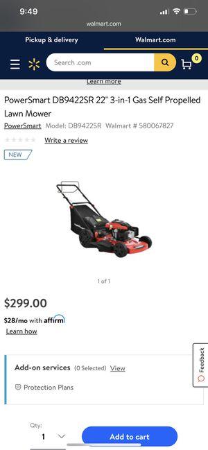 Powersmart Lawn Mower for Sale in Centreville, VA
