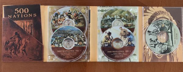 500 Nations DVD Box Set with Kevin Costner