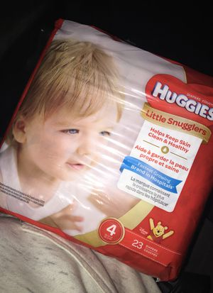 Huggies size 4 for Sale in Colorado Springs, CO
