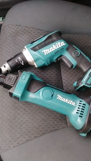 Makita brushless, screw gun and cutter, no battery,no charger. for Sale in North Miami Beach, FL