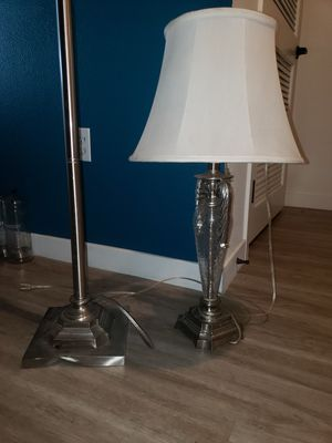 Lamp with crystal for Sale in La Mesa, CA