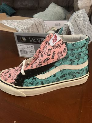 Vans Snoopy and the Gang for Sale in Burlington, NJ