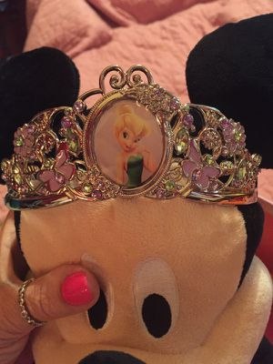 Disney Store Princess crowns & Tiaras. I have Disney gowns and more accessories. for Sale in Washington Crossing, PA