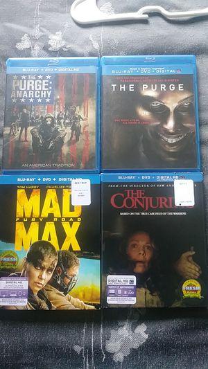 Blu ray for Sale in Escondido, CA