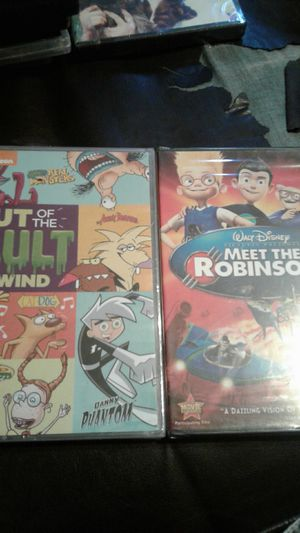 Meet The Robinsons And Nickelodeon Out Of The Vault for Sale in Fresno, CA