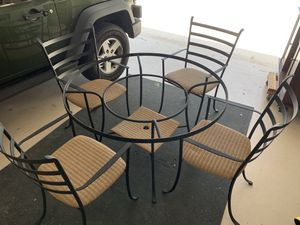Wrought Iron Table for Sale in Highland Beach, FL