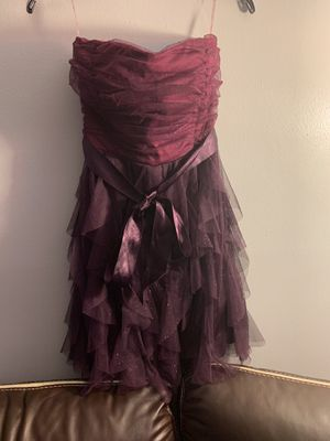 Off the shoulder size 11 purple dress for Sale in Beltsville, MD
