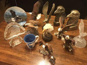 Eagle collection- American Eagle statues - 17 pieces. for Sale in Escondido, CA