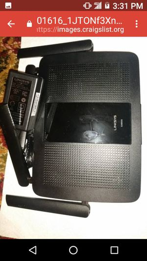 Linksys Router for Sale in Mannington, WV