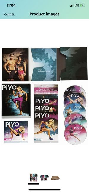 Chalene Johnson's PiYo Base Kit,5 DVDs Weight Loss Exercise Video Course & Fitness Guide PiYo for Sale in Arlington, TX