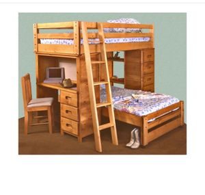 Twin bunk bed for Sale in Joliet, IL