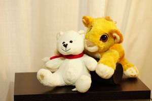 Simba lion stuffed animals used from a clean smoke free home. for Sale in Tamarac, FL