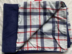 Maclaren Stroller's Rain Blanket for kids, Navy/Grey plaid for Sale in Brooklyn, NY