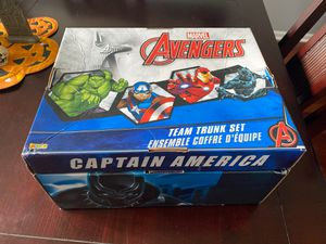 Super hero costume box for Sale in Montgomery, IL