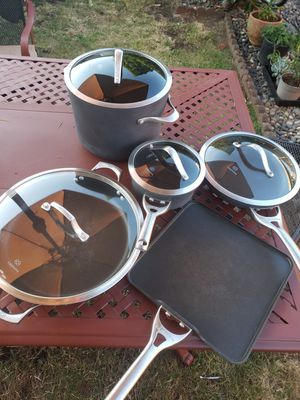 non-stacking Calphalon cookware items for Sale in Portland, OR