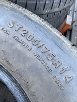 ST205/75/14 Trailer (2 Tires) $80.00/ Both for Sale in Laguna Hills, CA