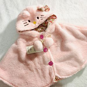 1-3 Yrs Pink Hello Kitty Warm Poncho for Sale in National City, CA