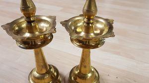 Brass diya(lamp) for Sale in South Brunswick Township, NJ