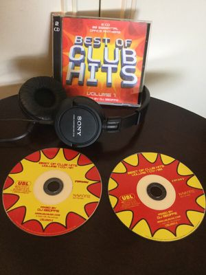 BEST OF CLUB HITS volume 1 🎧 / 2CD mixed by DJ GEOFFE 🎹 for Sale in Lincolnia, VA