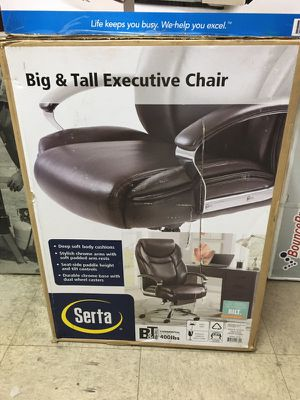 Serta chair executive new in box for Sale in Maywood, CA