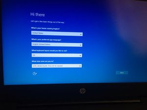Hp laptop windows 10 for Sale in San Angelo, TX