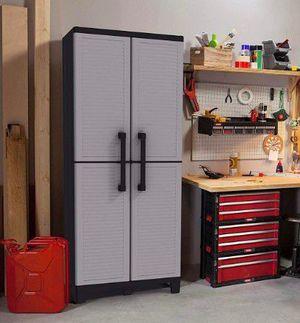 Keter Space Winner Grey, Garage Storage Cabinet for Sale in Las Vegas, NV