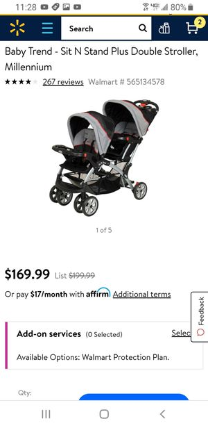 Baby Trend Double Stroller for Sale in Yakima, WA