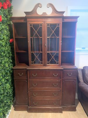 Antique Wood Armoire Cabinet for Sale in Washington, DC