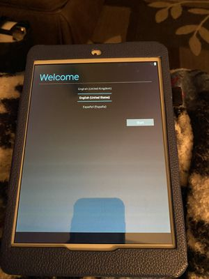 Acer Tablet with blue case for Sale in Matthews, NC