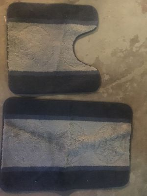Pair bath rugs for Sale in Davenport, IA