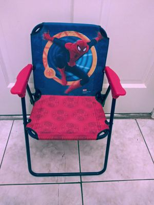 *** New SPIDER MAN ADVENTURE KIDS FOLDING CHAIR*** for Sale in Decatur, GA