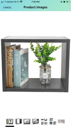 """Floating Shelves for Wall, Wall Mounted Book Shelves 15""""x12""""x9.45"""" for Sale in Daly City, CA"""