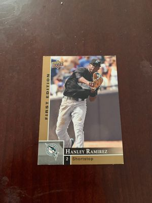 Hanley Ramirez first Edition baseball card for Sale in Long Beach, CA