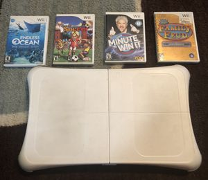 Wii Board & Games for Sale in Glen Burnie, MD