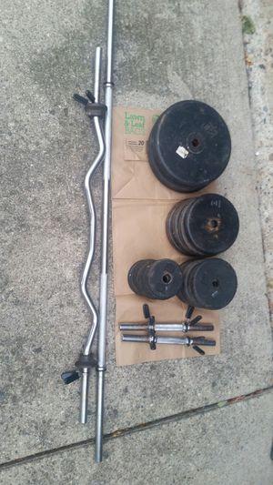 Cap brand weight set standard diameter for Sale in Plymouth, MI