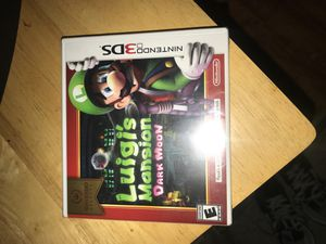 Luigis mansion Dark Moon Nintendo Game for Sale in Los Angeles, CA
